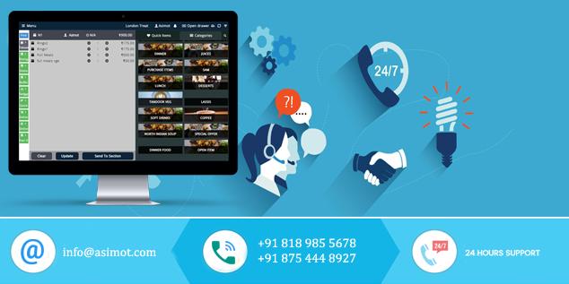 Effective Menu Free POS Software for Your Restaurant - ASIMOT